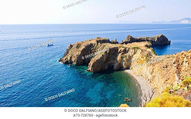 Punta Milazzese, Panarea, Eolian Islands, Sicily, Italy