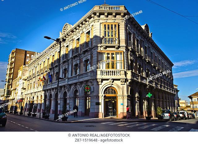 Casa del Pinón, town hall of La Unión, Cartagena, Murcia, Spain