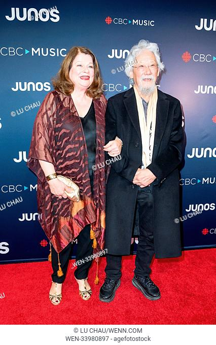 2018 JUNO Awards, held at the Rogers Arena in Vancouver, Canada. Featuring: David Suzuki Where: Vancouver, British Columbia