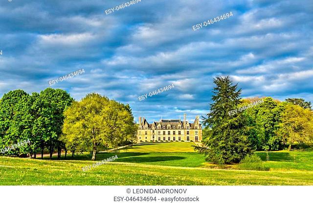 Chateau de Beauregard, one of the Loire Valley castles in France, the Loir-et-Cher department