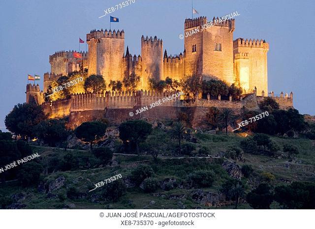 Castle, Almodovar del Rio. Cordoba province, Andalucia, Spain