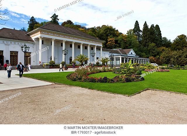 Spa hotel Baden-Baden, Black Forest, Baden-Wuerttemberg, Germany, Europe
