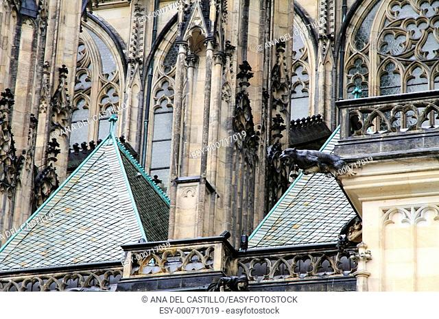 St  Vitus Cathedral Prague Castle Czech Republic