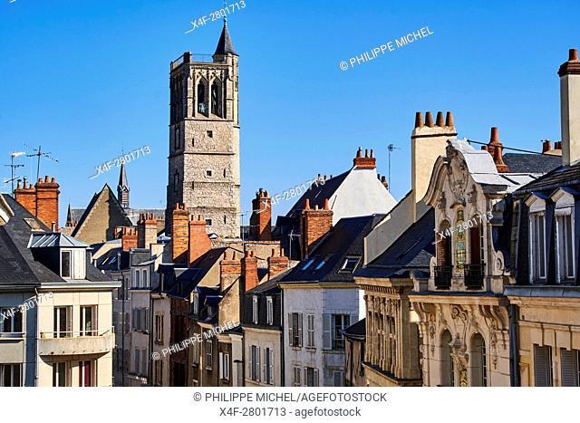 France, Loiret, Orleans, the Beffroi