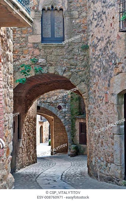 Medieval city, Spain