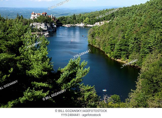 Lake Mohonk - Mohonk Mountain House, New Paltz, Hudson Valley, New York, USA