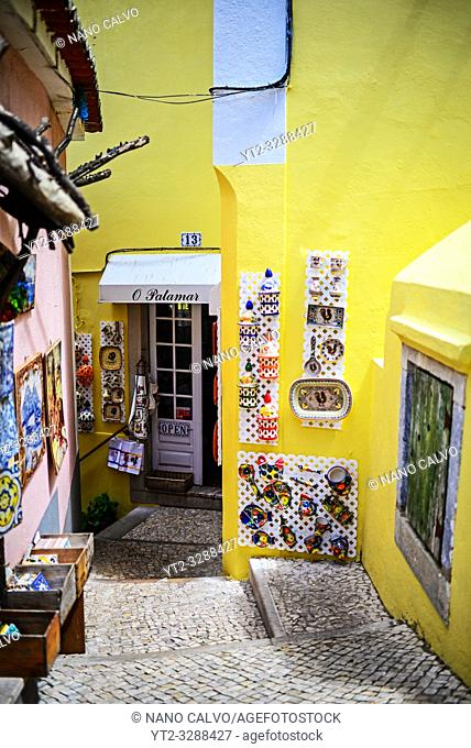 Craft shops in Sintra, Portugal