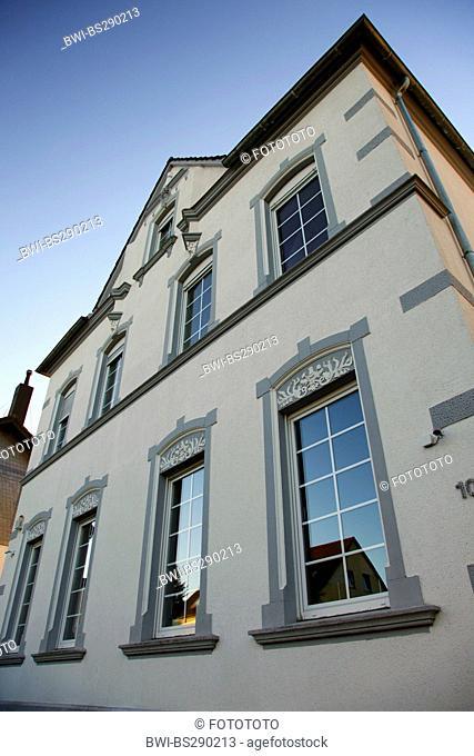 villa around the turn of the century, Germany, North Rhine-Westphalia, Ruhr Area, Witten
