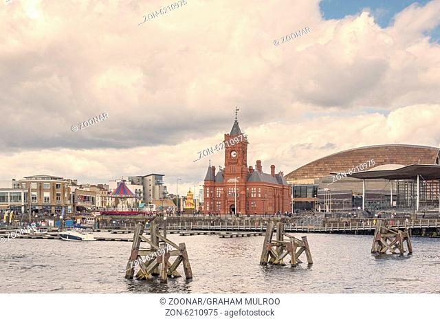 National Assembly For Wales Buildings Cardiff Bay