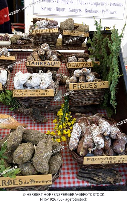 Food; Sausages; local Specialties; Gastronomic Specialties; Provence; France