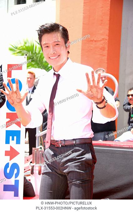 Lee Byong-Hun 06/23/2012 The Look East Korean Film Festival 2012 Hand and Foot Print Ceremony held at the Grauman's Chinese Theatre in Los Angeles