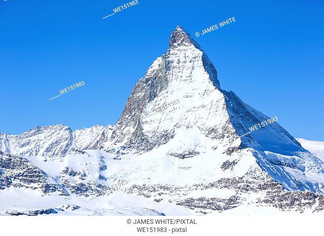 Matterhorn - 4478 m, Zermatt, Wallis, Switzerland