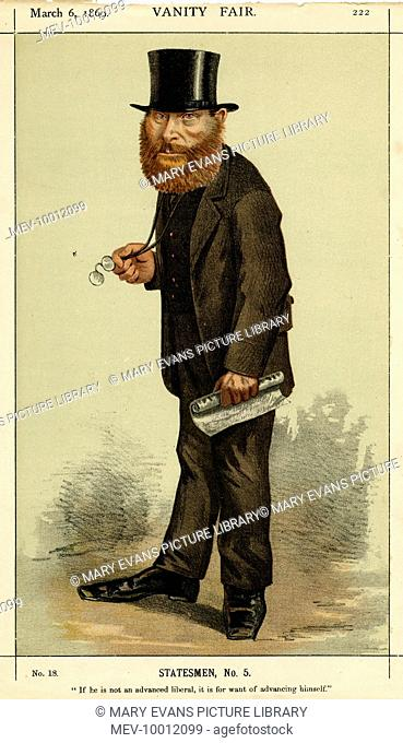 WILLIAM EDWARD FORSTER British statesman