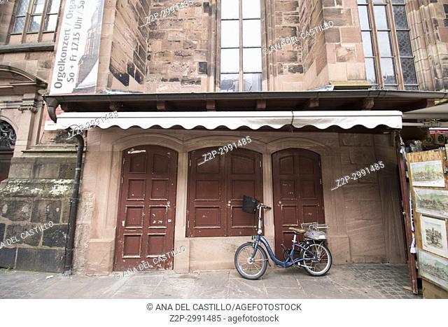 Heidelberg cityscape in Baden-Wurtemberg Germany