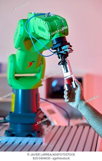Robotics development in industry, Robot, Advanced manufacturing Unit, Technology Centre, Tecnalia Research & Innovation, Donostia, San Sebastian, Gipuzkoa