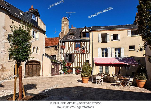 France, Loiret, Orleans, Saint Pierre Empont street