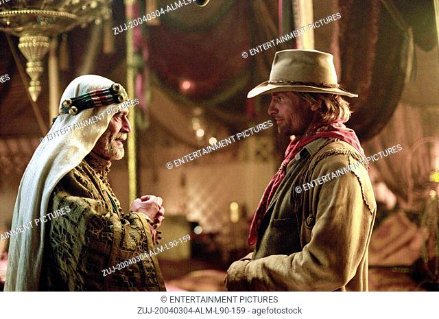 RELEASE DATE: March 5, 2004. MOVIE TITLE: Hidalgo. STUDIO: Touchstone Pictures. PLOT: In 1890, a down-and-out cowboy and his horse travel to Arabia compete in a...