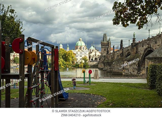 Autumn afternoon in Prague