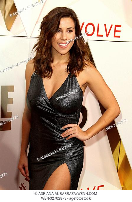 #REVOLVE Awards Arrivals held at The Dream Hotel in Hollywood, California. Featuring: Devin Brugman Where: Los Angeles, California