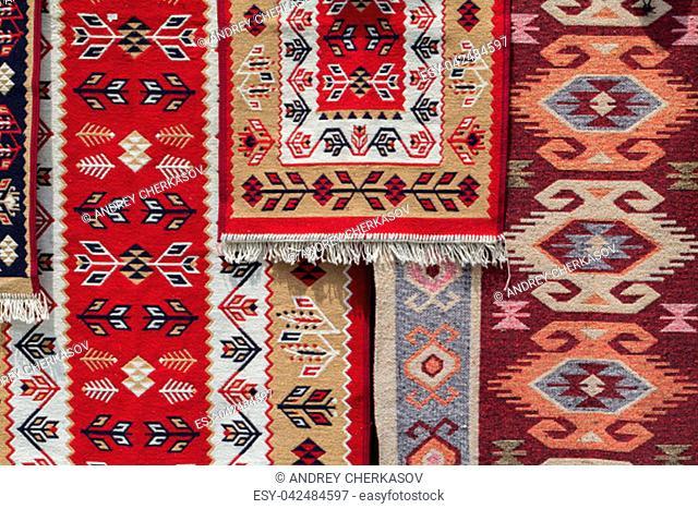 element of the Caucasian kilim pattern