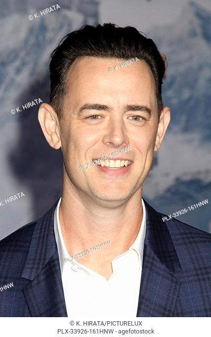 """Colin Hanks 12/09/2019 """"""""Jumanji: The Next Level"""""""" Premiere held at the TCL Chinese Theatre in Hollywood, CA. Photo by K. Hirata / HNW / PictureLux"""