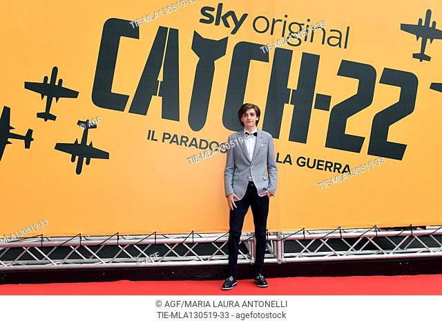 Domenico Cuomo during 'Catch-22' TV show photocall, Rome, Italy - 13 May 2019