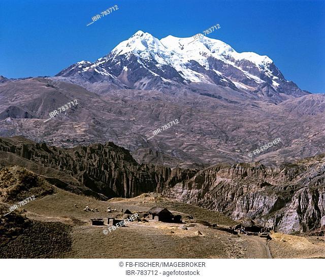 Nevado Illimani, Andes, Bolivia, South America