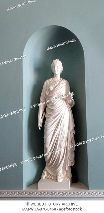 Neo-Classical cast of a Roman Goddess, Kenwood House, London. Dated 18th Century