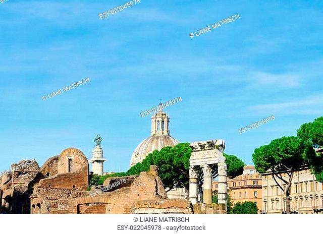 Rom Kirche Santissimo Nome di Maria al Foro Traiano - Rome Church Santissimo No