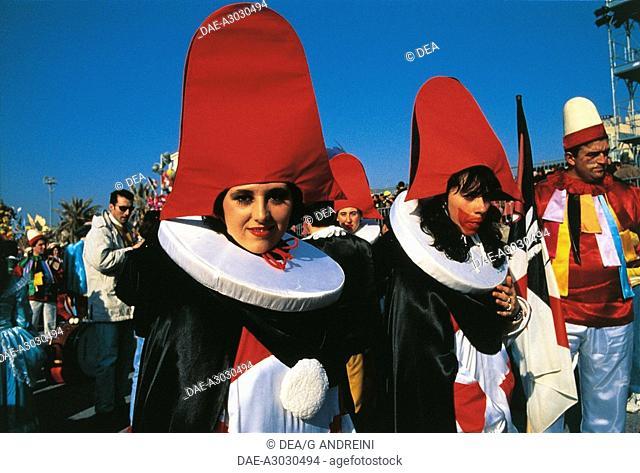 Italy - Tuscany Region - Versilia - Viareggio - Carnival - Burlamacco mask