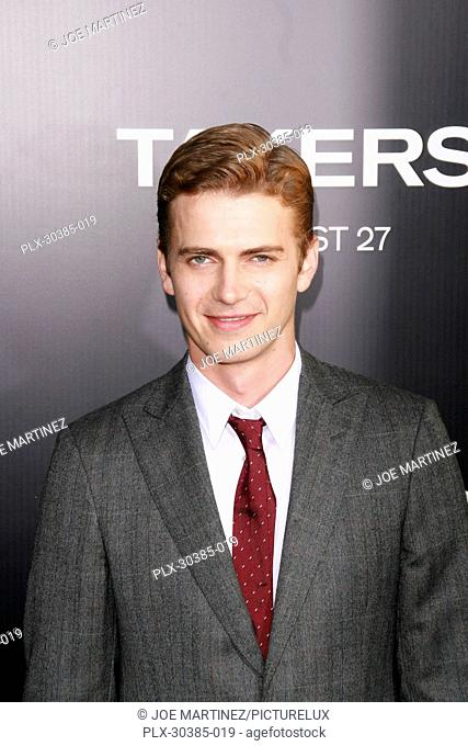 Hayden Christensen at the Premiere of Screen Gems' Takers. Arrivals held at Arclight Cinerama Dome in Hollywood, CA, August 4, 2010