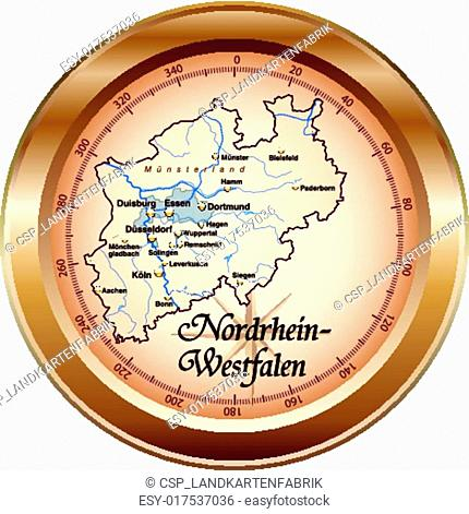 Map Solingen Border Stock Photos And Images Agefotostock