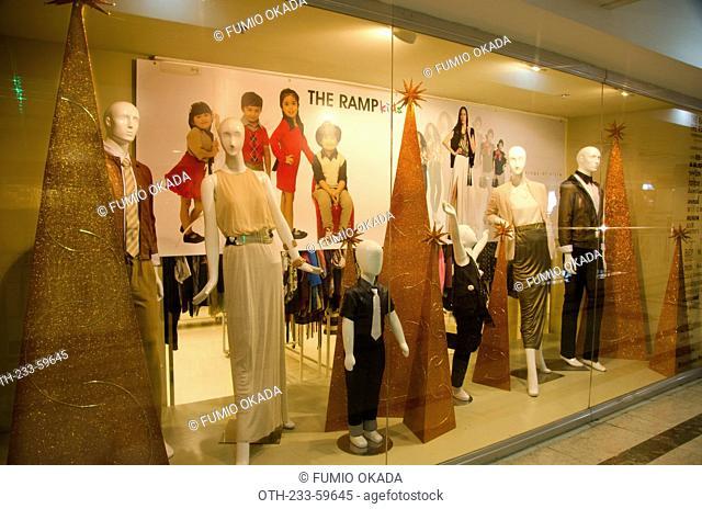 A fashion boutique in Glorietta shopping mall, Makati, Philippines