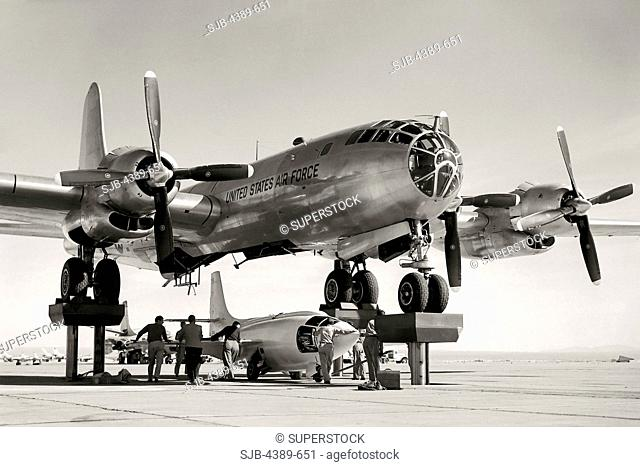 X-1 Loading into Superfortress