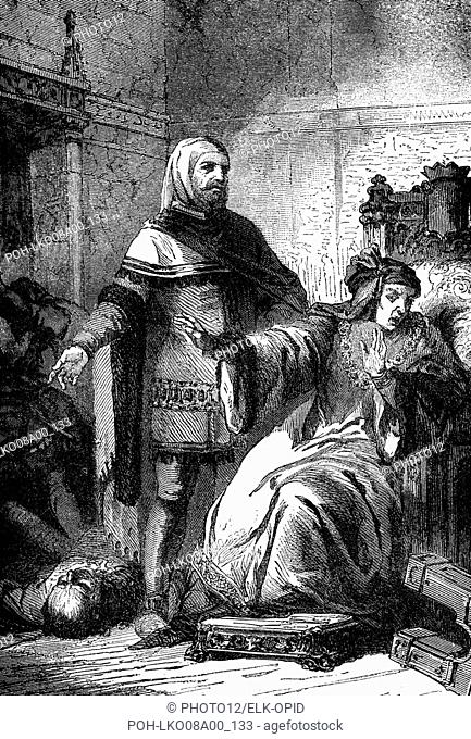 The Jacqueries. On february, the 22th of 1358, the conspirators fell upon the Marshal and killed him at the foot of the Dauphin's bed, in the Palais de la Cité