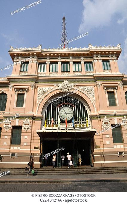 Ho Chi Min City (Vietnam): the Central Post Office