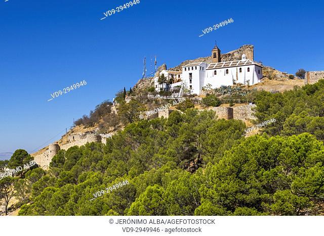 Hermitage Nuestra Señora de Gracia, Archidona. Málaga province, Andalusia. Southern Spain Europe