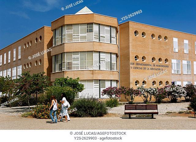 University, Almeria, Region of Andalusia, Spain, Europe