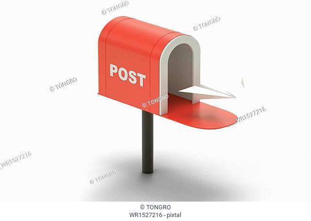 a classical mail box