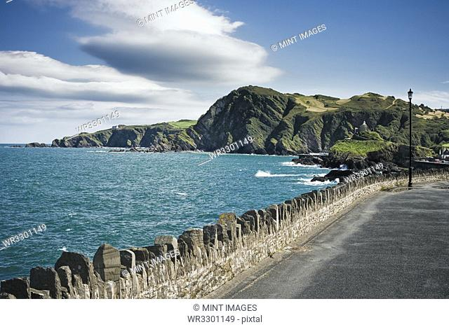 Roadway Along Coast