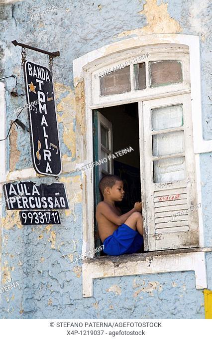 Old city center, Pelourinho. Salvador, Brazil