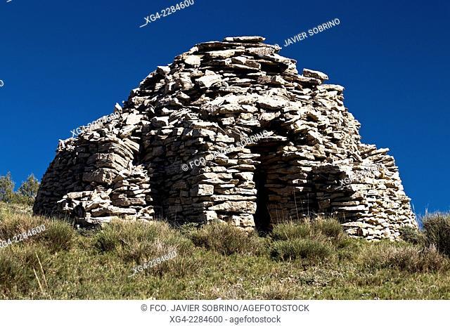 Dry Stone Hut - Villafranca del Cid - Castellon - Comunidad Valenciana - Spain - Europe