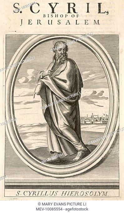 Saint Cyril, bishop of Jerusalem