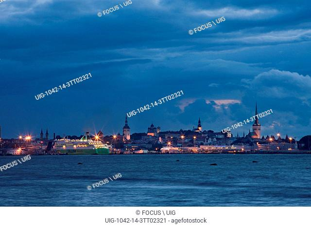 Tallinn at Night