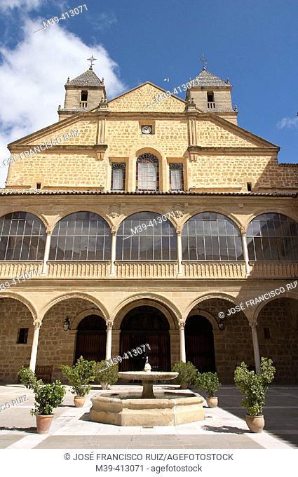 Hospital de Santiago built 16th century by architect Andrés de Vandelvira, Úbeda. Jaén province, Andalusia. Spain