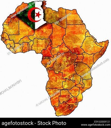 old flag of algeria