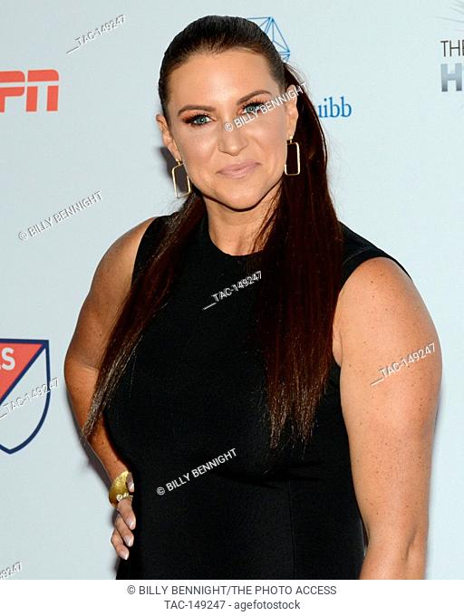 Stephanie McMahon attends the 3rd Annual Sports Humanitarian of the Year Awards at LA LIVE'S The Novo in Los Angeles on July 11, 2017