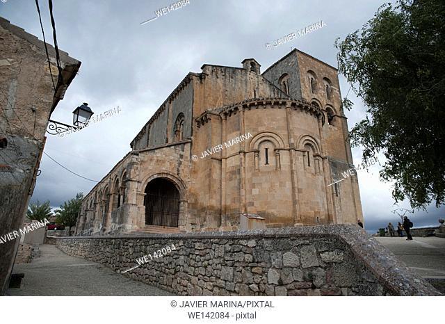 Church of San Salvador, Sepúlveda, Segovia province, Castilla-Leon, Spain
