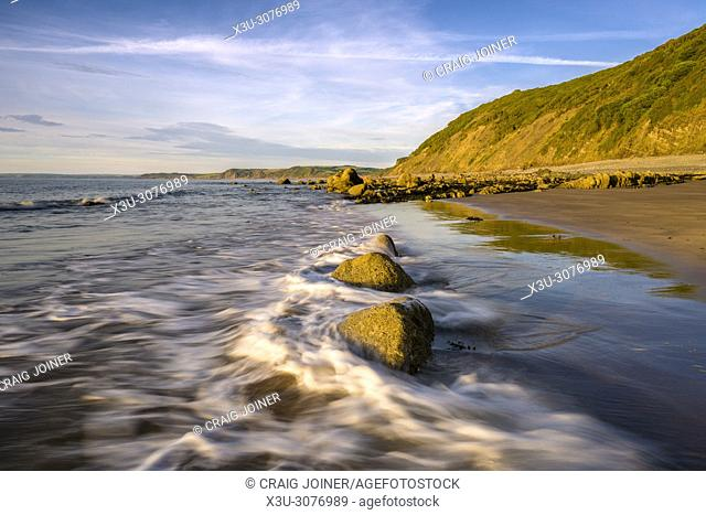 Buck's Mills beach on the North Devon Heritage Coast, England