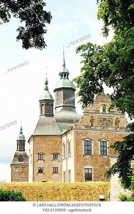 Vadstena castle a historical landmark in Ostergotland, Sweden